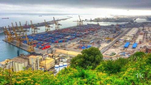 Montjuïc-Port of Barcelona